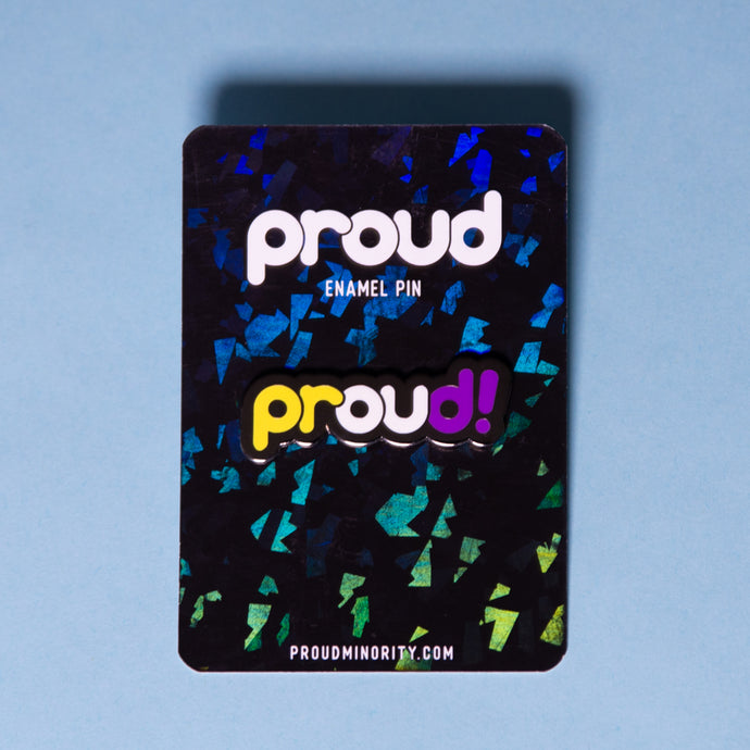 Proud Non-Binary Pin