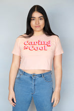 Caring is Cool - Crop Top