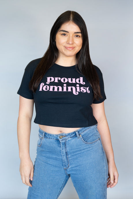 Proud Feminist - Crop Top