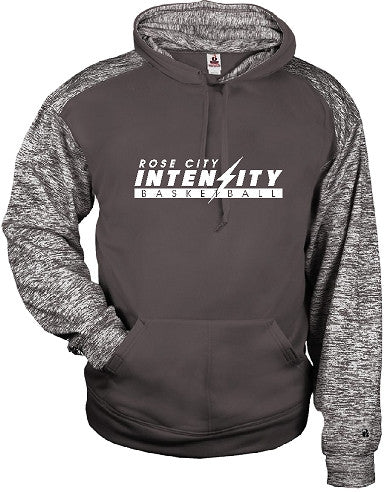 Rose City Intensity Graphite/Graphite Blend Hooded Sweat Shirt