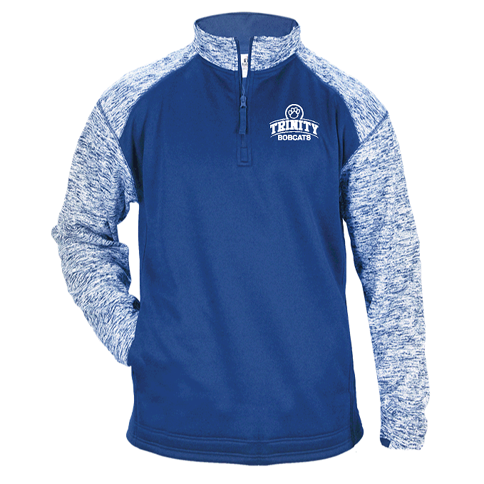 Sport Fleece 1/4 Zip Bobcats