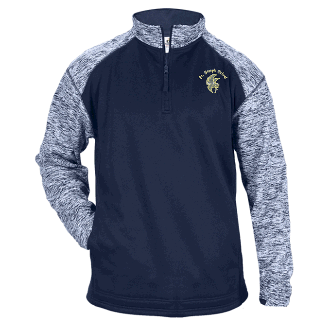 Blend Sport Fleece 1/4 Zip Falcons
