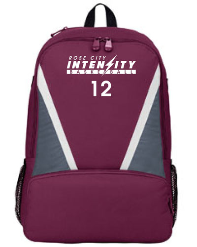 Rose City Intensity Back Pack / Embroidered logo and #   BR1767