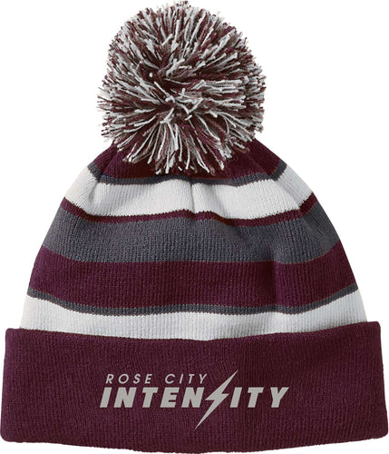 Rose City Intensity Holloway AB 223835 Acrylic Rib Knit Comeback Beanie