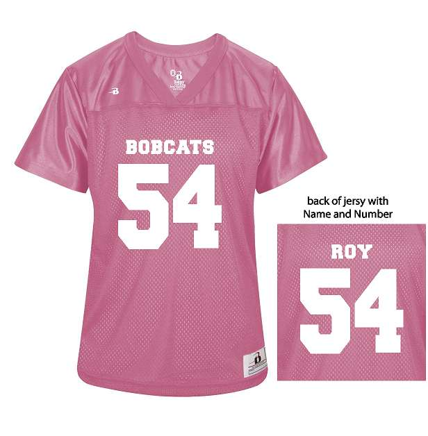 ALL NEW BACON ACADEMY Ladies Fan Jersey 8965 by Badger