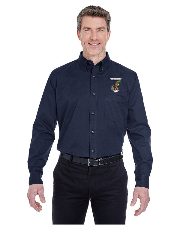 UltraClub 8975 UltraClub Men's Whisper Twill
