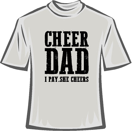 NCFL 20017 CHEER DAD T Shirt