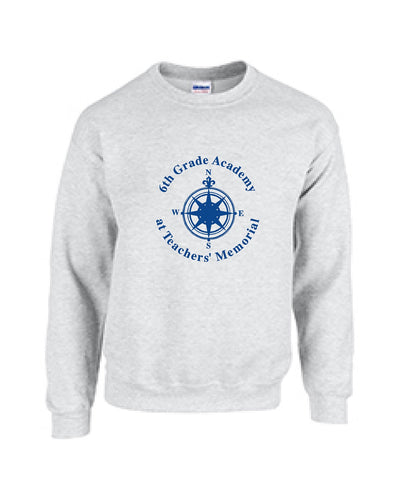 6th Grade Academy  Gildan Adult Heavy Blend™ 8 oz., 50/50 Fleece Crew