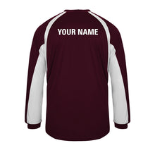Mens Long Sleeve Hook 415400 With Players Name and Logo