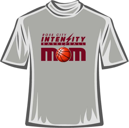 MOM Tee Shirt Rose City Intensity Basket Ball