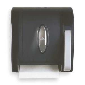"Hi-impact Plastic - 8"" diameter Roll Towel Dispenser"