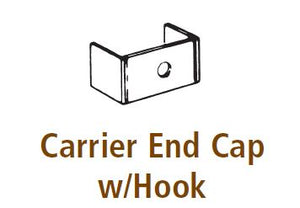 CZ 5100 Carrier End Cap w/Hook