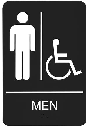 Pictogram Men HDCP -  PA 3802