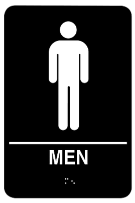 Pictogram Men -  PA 3801