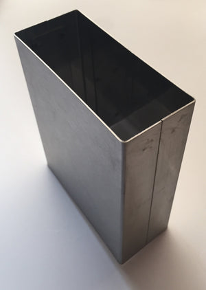 PA149  -  Partition Pilaster Shoe - Stainless Steel