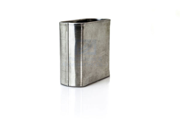 Partition Pilaster Shoe - Stainless Steel