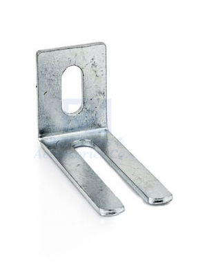 "Floor Bracket - 2 1/2 x 1 1/4"" x 1"" Wide"