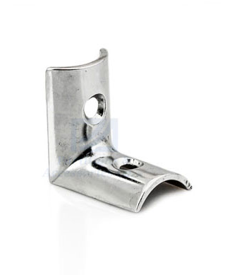 PA39 Chrome Bracket (beveled)