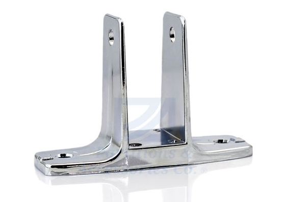 PA95-Chrome Bracket 1 1/4""