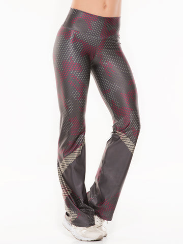 RICHELLE GOLD PRINTED LEGGINGS