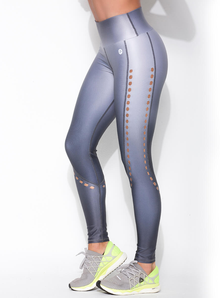 ABBY GRAY LEGGINGS for women side pic