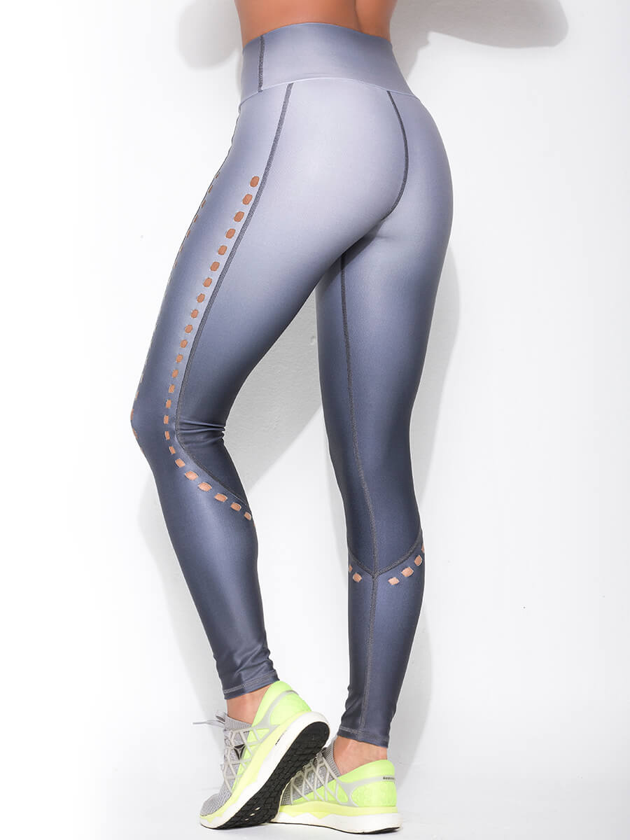 ABBY GRAY LEGGINGS for women back