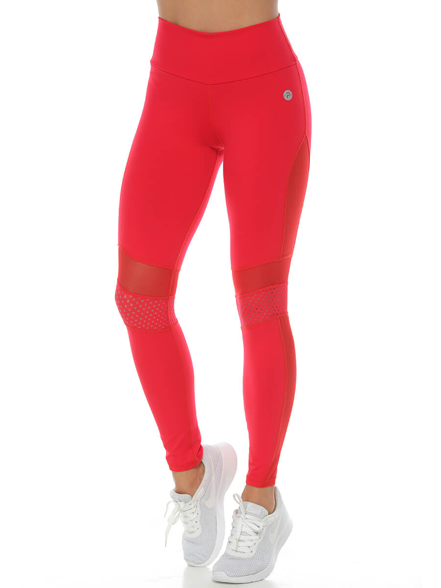 TASHA RED LEGGINGS