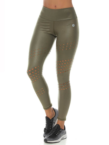 RAVEN GOLD LEGGINGS