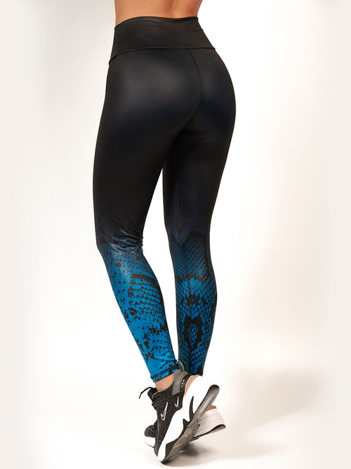 CARMEL BLUE LEGGINGS