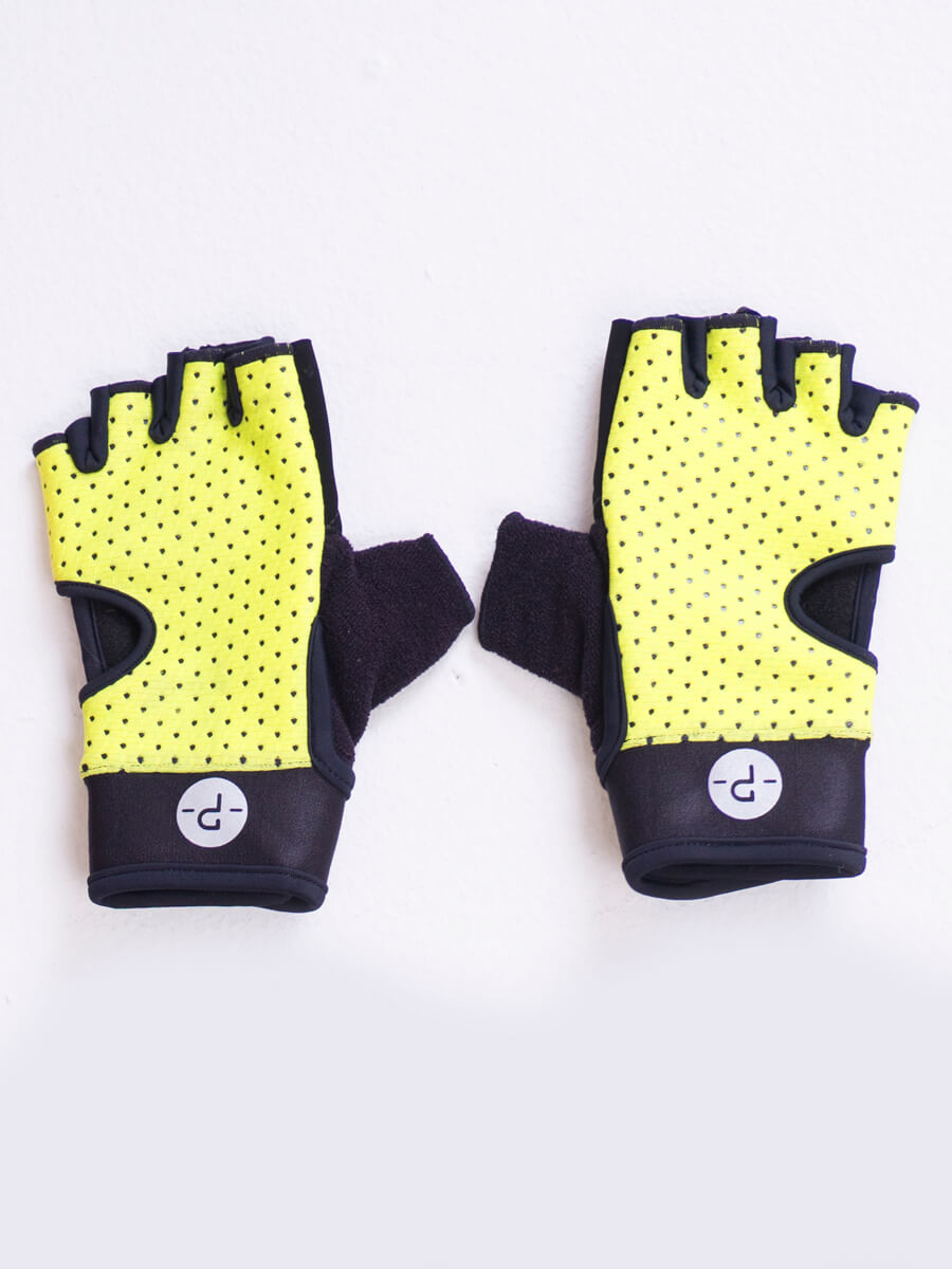 GLOVES NEON GREEN N 22