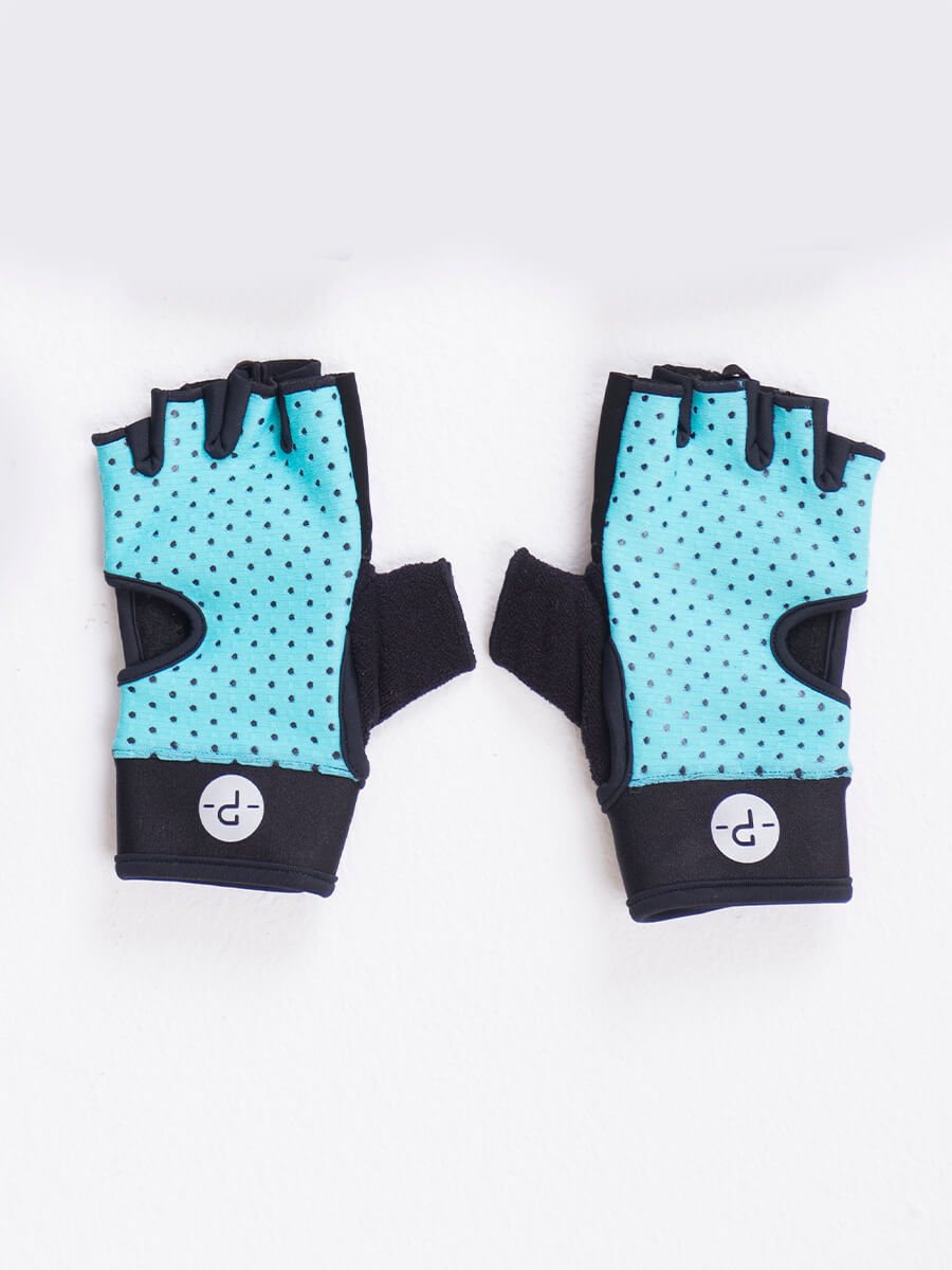 GLOVES TURQUOISE N 17