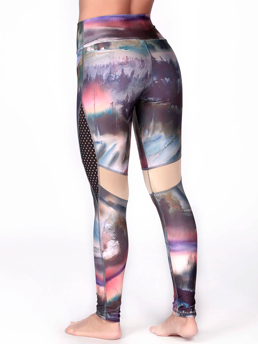 Maite printed leggings