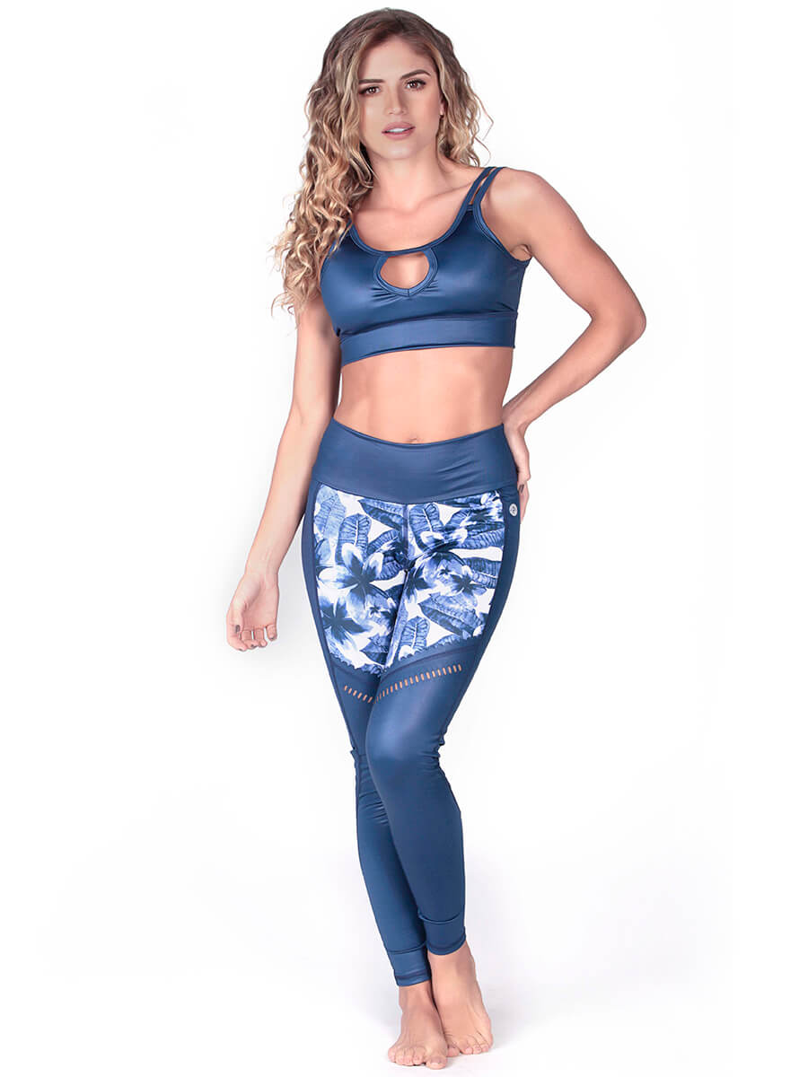 PATSY BLUE SPORTS BRA