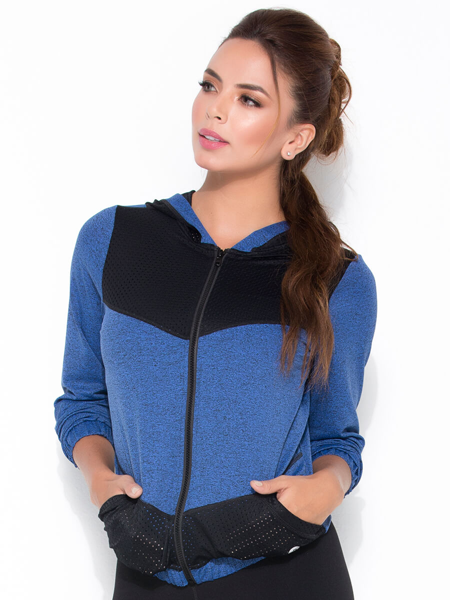 blue sports jacket front middle side