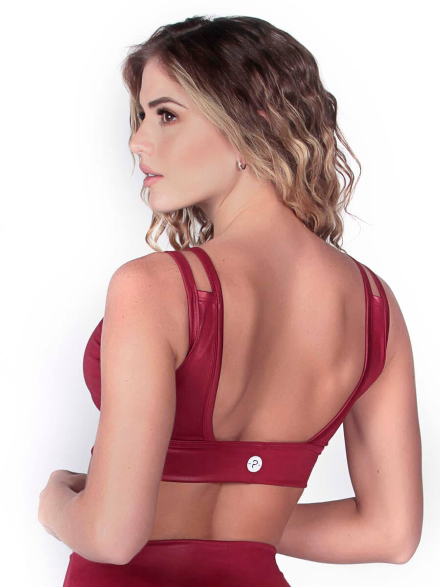 PATSY RED SPORTS BRA