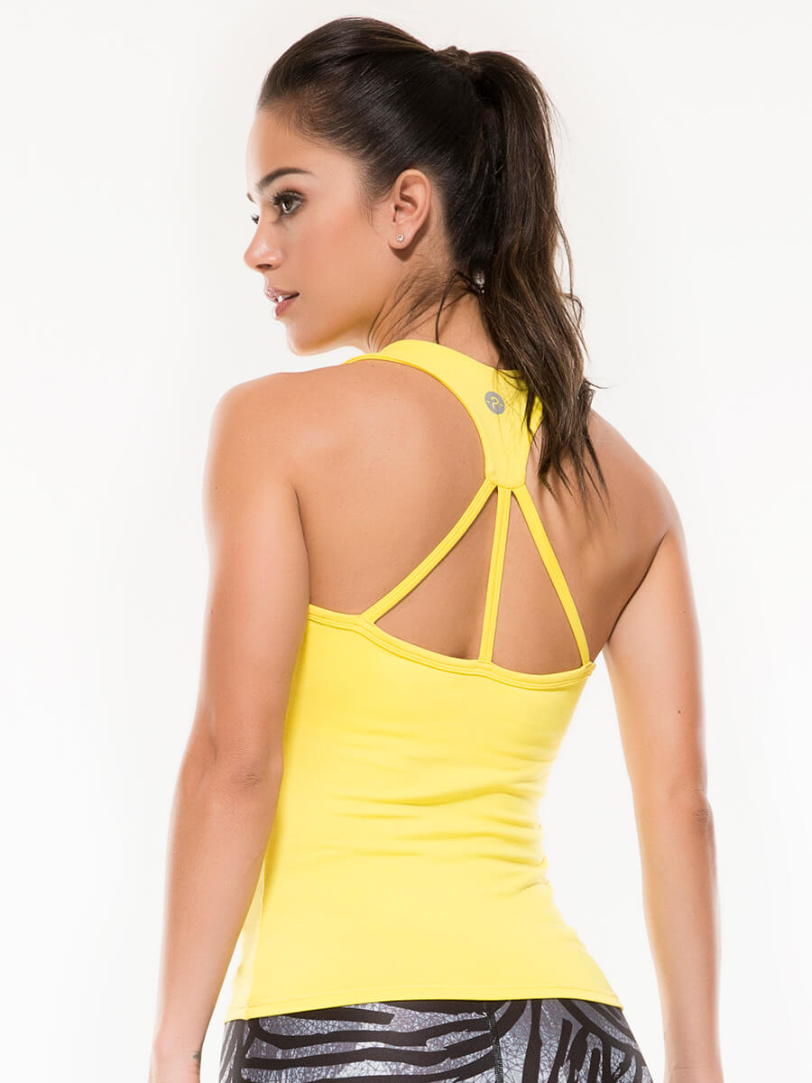ESSIE YELLOW TANK TOP