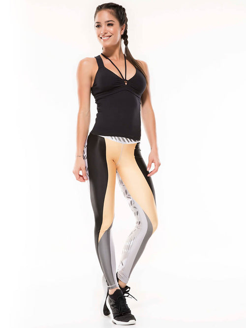 Zuria printed leggings