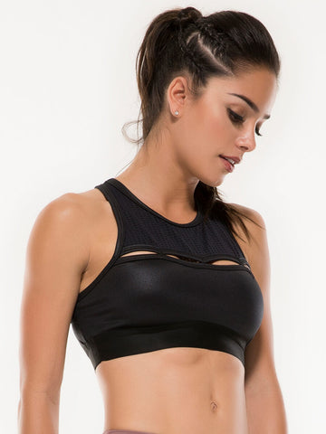 JOLIE NAVY SPORTS BRA