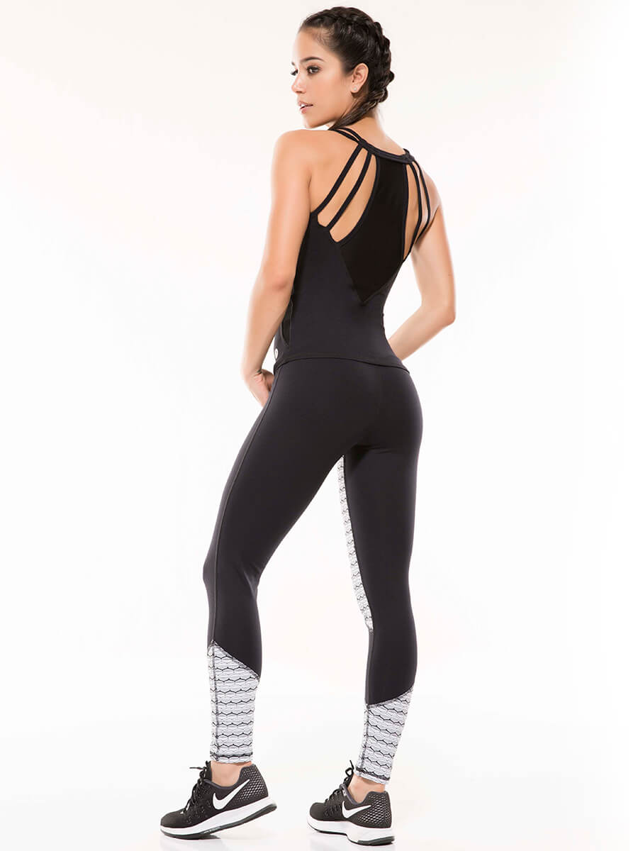 PETRA BLACK LEGGINGS