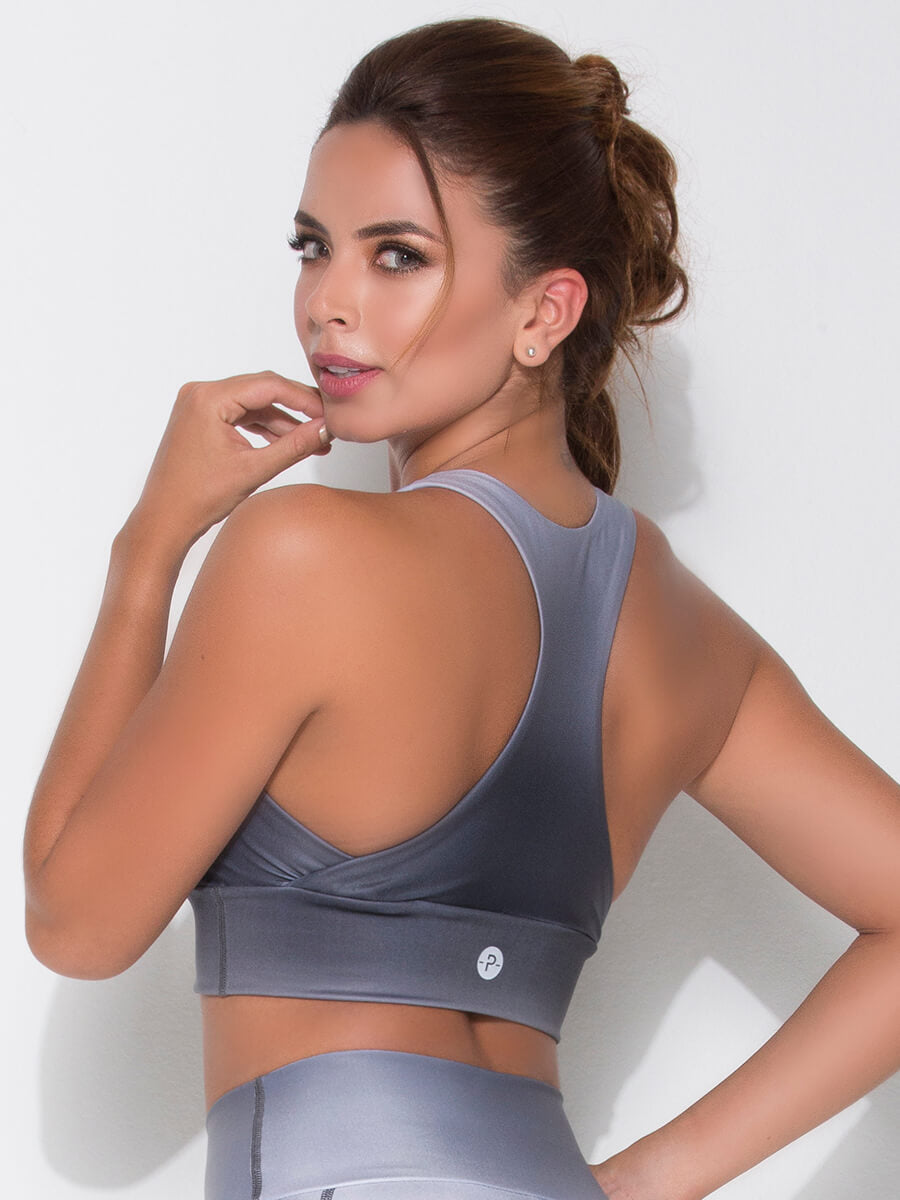 ABBY GRAY SPORTS BRA back