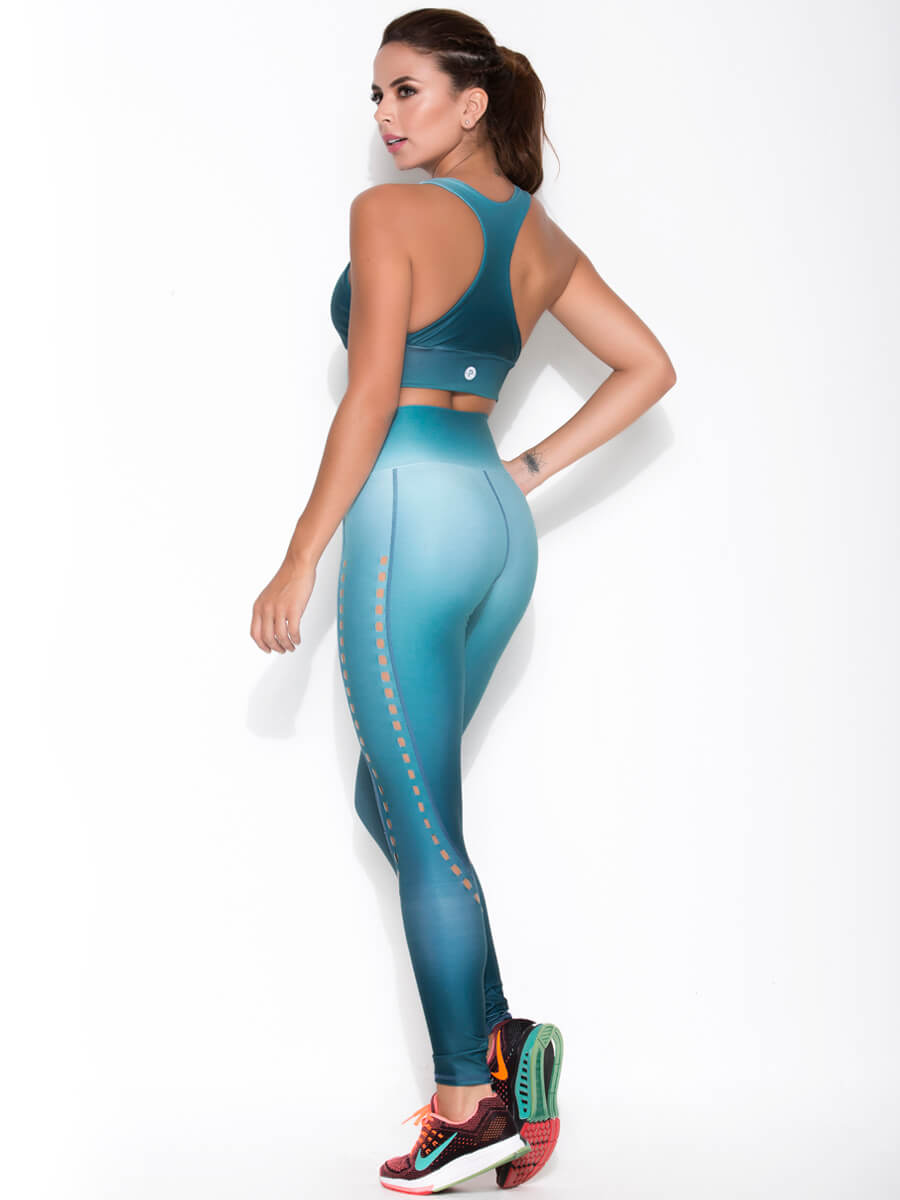 ABBY GREEN SPORTS suit full back