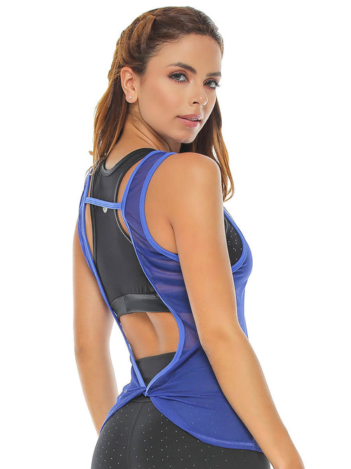 KAY ELECTRIC BLUE MESH