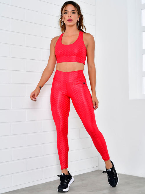 TINA RED LEGGINGS
