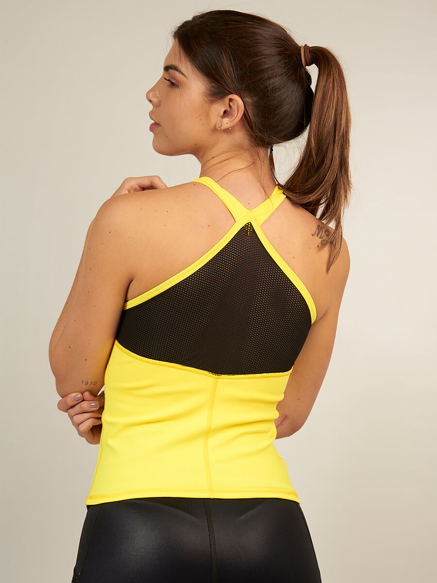 DULCE YELLOW TANK TOP
