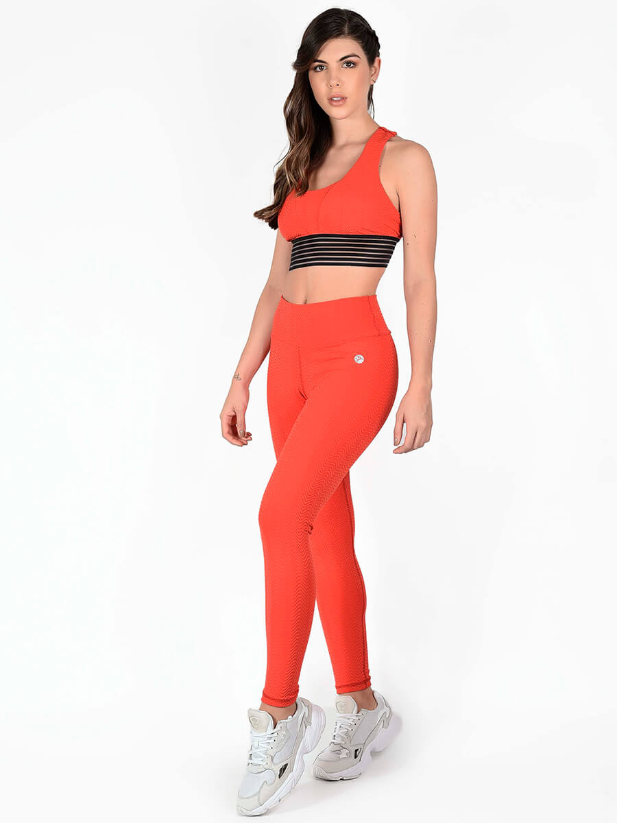 SHARON RED LEGGINGS