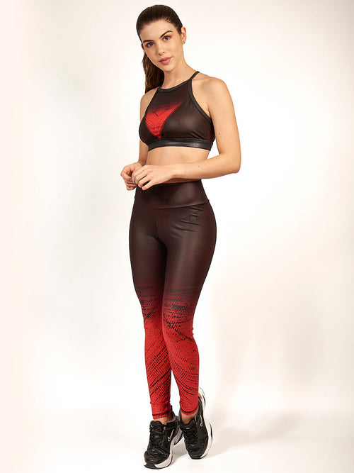 CARMEL RED LEGGINGS