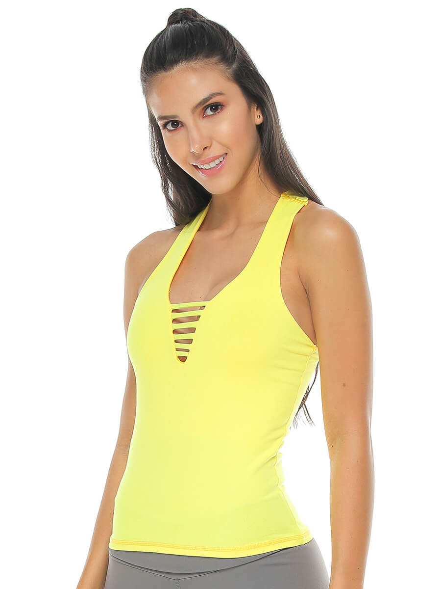 ALYCE YELLOW TANK TOP