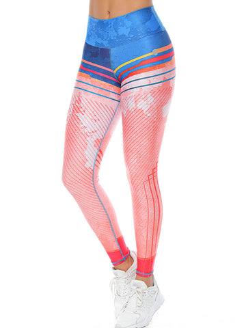 SKYLA AQUA LEGGINGS