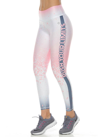 STORM PRINTED LEGGINGS