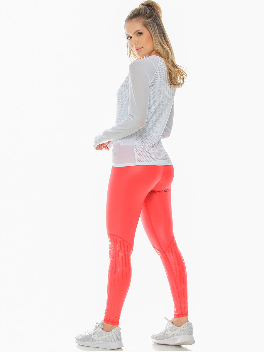 BLAIR RED LEGGINGS